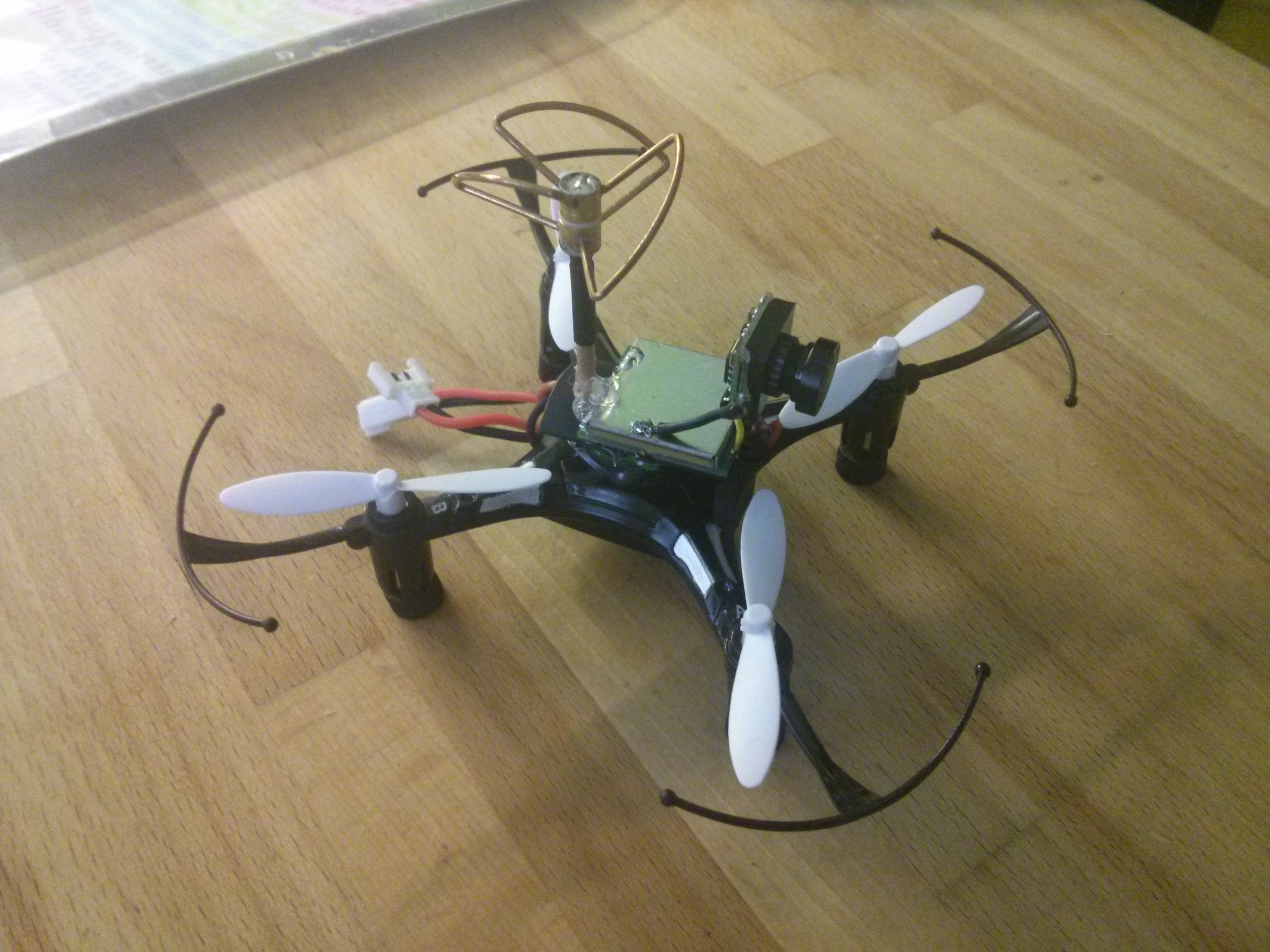 Diy Micro Fpv Quadcopter Hobbyking Wiring Diagram Img 20151225 125621
